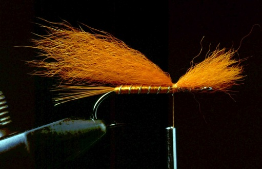Orange Muddler Minnow 04