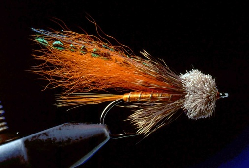 Orange Muddler Minnow 10