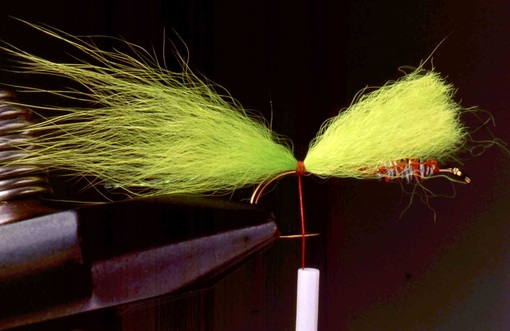 Chartreuse Streamer Nymph 02