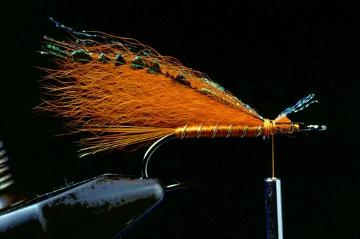 Orange Muddler Minnow 05