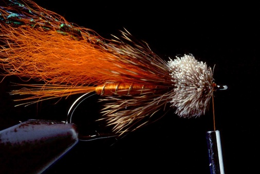Orange Muddler Minnow 08