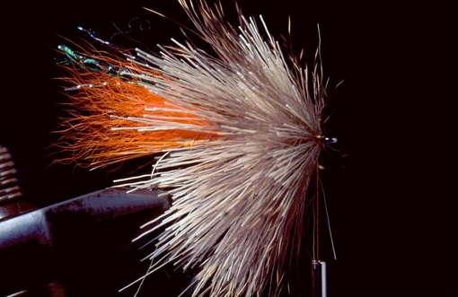 Orange Muddler Minnow 07